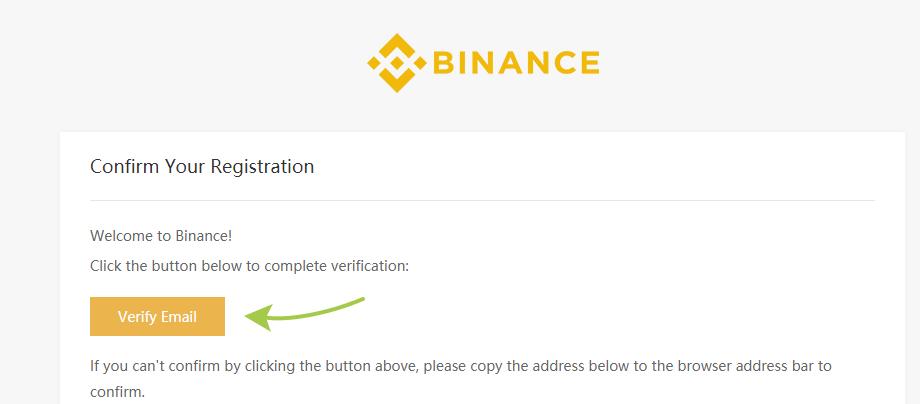 Регистрация на бирже Binance, шаг 4