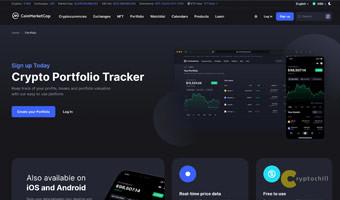 Крипто-портфолио трекер от CoinMarketCap