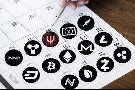 Онлайн календарь криптовалют