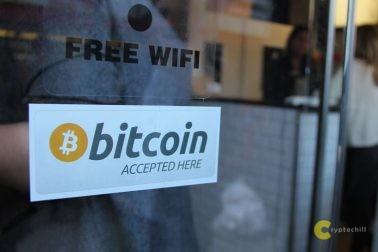 Массовое принятие криптовалют в магазинах