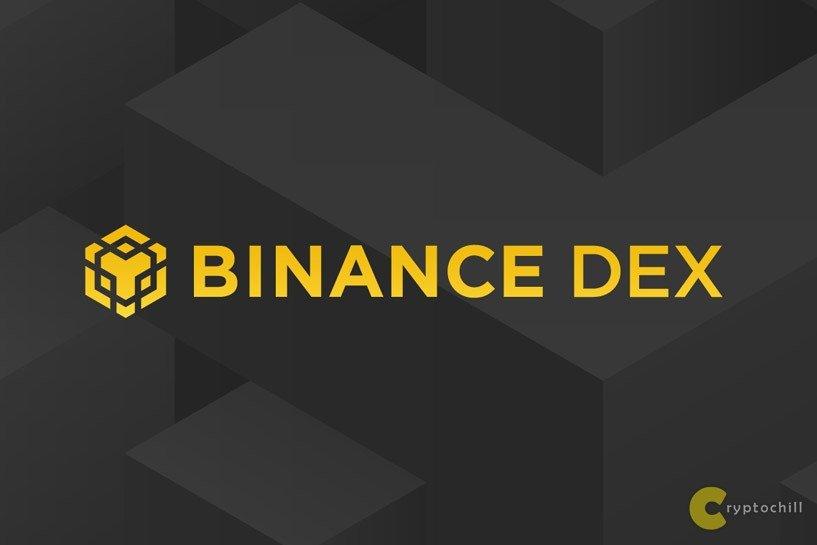 Биржа Binance Dex - логотип