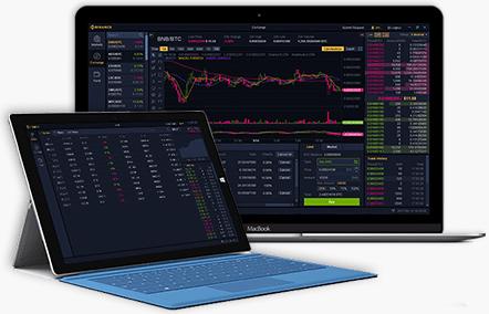 Приложения биржи Binance для ПК и macOS