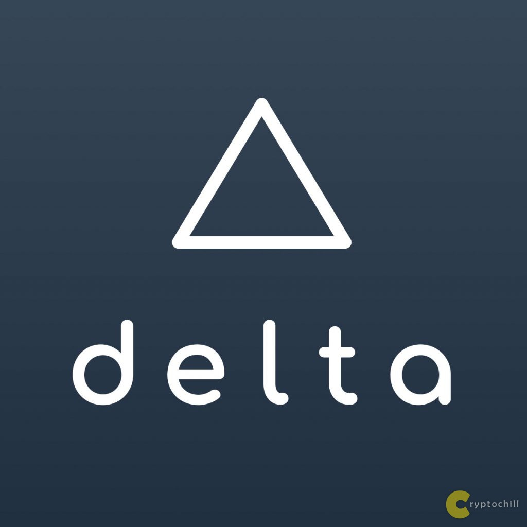 Delta крипто трекинг лого
