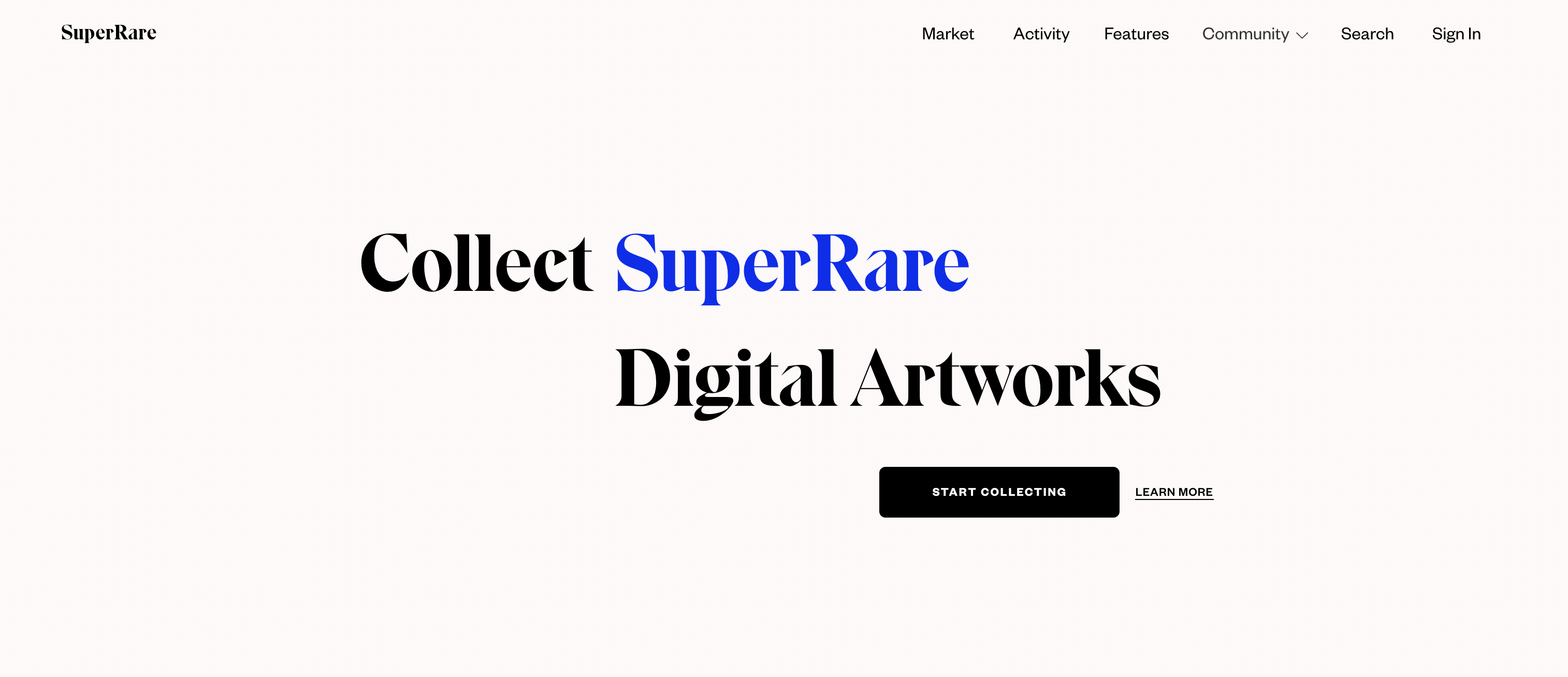 SuperRare - торговая площадка NFT